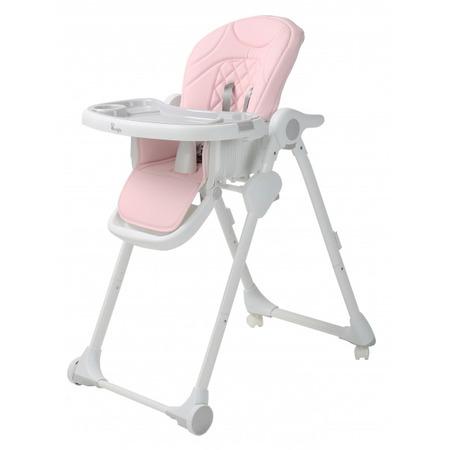 Scaun de masa pentru copii Bo Jungle Wheely Roz*