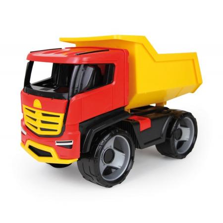 Autocamion Lena Titan cu volan din plastic pentru copii*