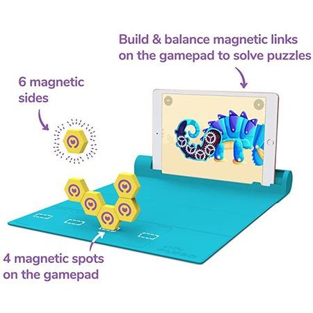 Set de constructie magnetic Plugo Link - Jucarie educativa bazata pe Realitate Augmentata Shifu Shifu019*