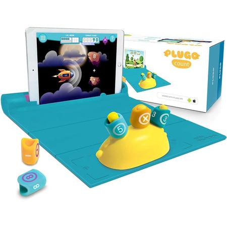 Jucarie educativa Matematica Plugo Count - Sistem interactiv bazat pe Realitate Augmentata Shifu Shifu020*