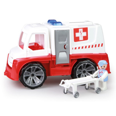 Camion Ambulanta Lena Truxx cu figurina si accesorii*