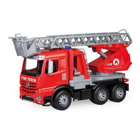 Camion de pompieri din plastic pentru copii Lena Mercedes Arocs *