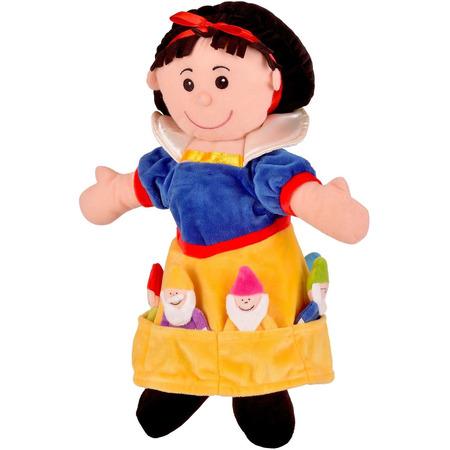 Set Marionete Alba ca Zapada si cei 7 Pitici Fiesta Crafts FCT-2310*
