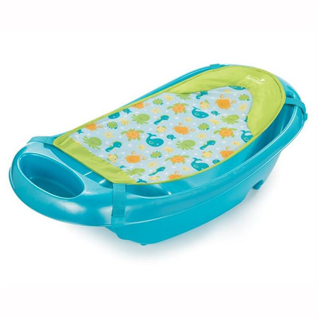 Set cadita si suport de baita splish n splash - blue, Summer Infant*