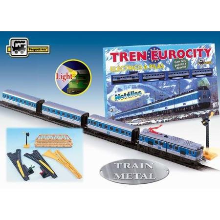 Trenulet electric calatori eurocity, Pequetren*