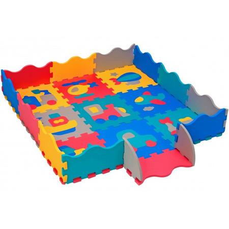 Puzzle burete pentru copii Globo Vitamina G 9 piese Eva cu margini*