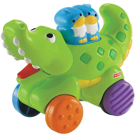 Jucarie Fisher Price by Mattel Infant Press and Go Crocodil*