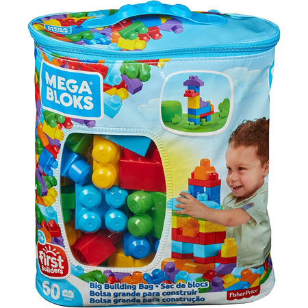 Jucarie Fisher Price Mega Blocks Primele Cuburi de construit 60 piese*