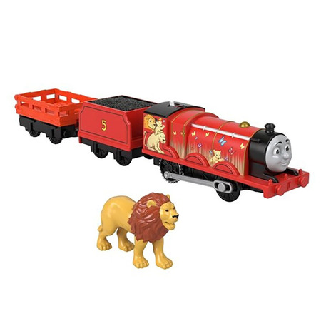 Tren Fisher Price by Mattel Thomas and Friends Lion James*