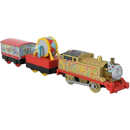 Tren Fisher Price by Mattel Thomas and Friends Golden Thomas*
