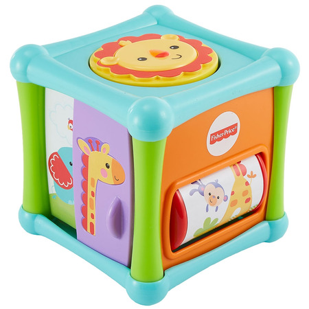 Cub cu activitati Fisher Price by Mattel Infant Animalute*