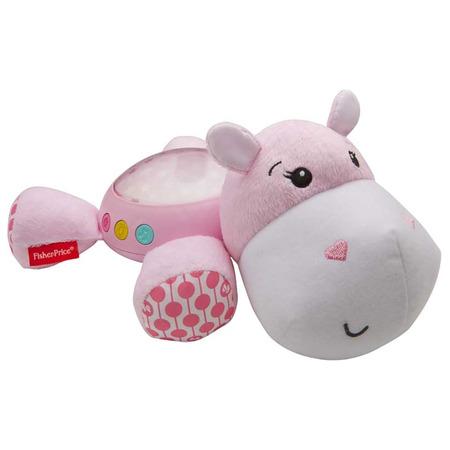 Lampa de veghe plus Fisher Price by Mattel Newborn Hipopotam roz*