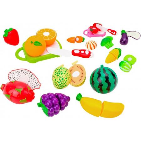 Set alimente diverse fructe si legume si cutit Globo cu velcro*