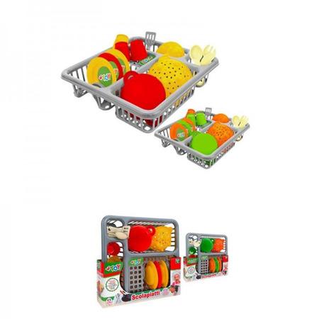 Uscator vase Globo cu accesorii din plastic 14 piese*