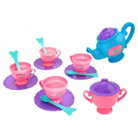 Set ceai Globo pentru copii din plastic 14 piese*