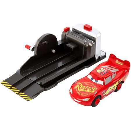 Masina Disney Cars by Mattel Fulger McQueen cu lansator*