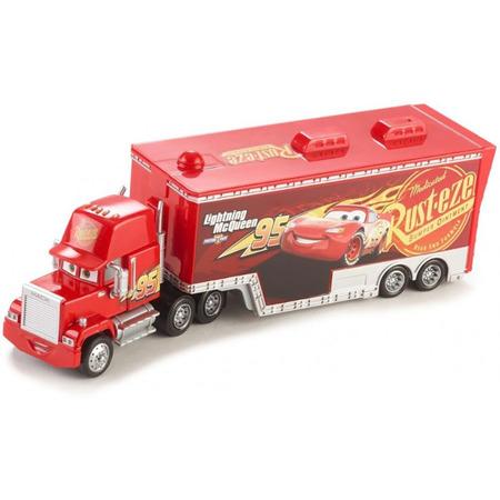 Camion Disney Cars by Mattel Mack Hauler din metal cu masinuta*