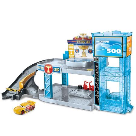 Jucarie Disney Cars by Mattel Garaj Florida 500 cu masinuta*
