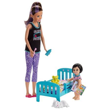 Set Barbie by Mattel Family Skipper Mergem la nani*