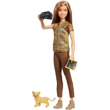 Papusa Barbie by Mattel National Geographic Fotojurnalista*