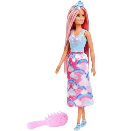 Papusa Barbie by Mattel Dreamtopia cu perie*