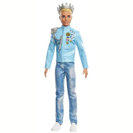 Papusa Barbie by Mattel Modern Princess Theme Printul Ken*