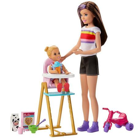 Set Barbie by Mattel Family Skipper Mamica si bebelus*