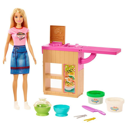 Set Barbie by Mattel Cooking and Baking Pregateste noodles cu papusa si accesorii*