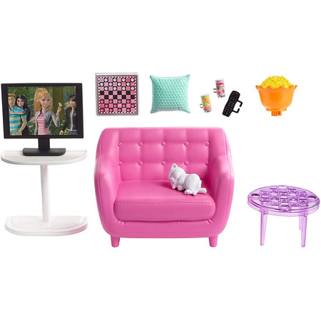 Set Barbie by Mattel Estate Mobila sufragerie cu accesorii FXG36*