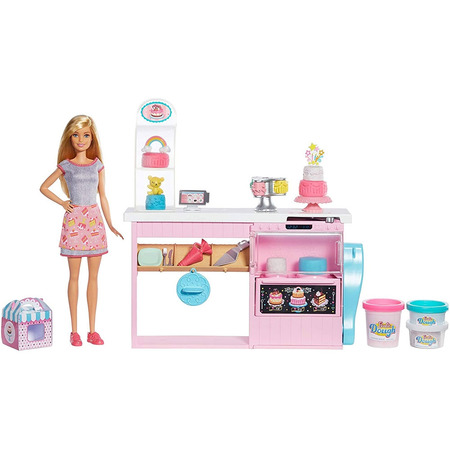 Set Barbie by Mattel I can be Papusa cu cofetarie GFP59*