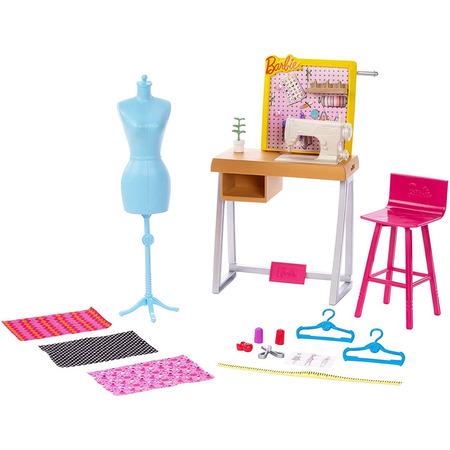 Set Barbie by Mattel I can be Croitorie FXP10 cu accesorii*