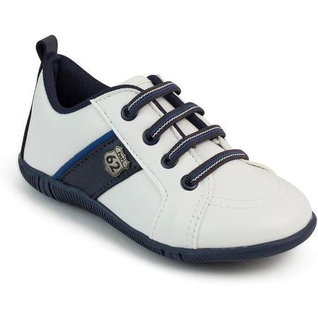 Pantofi copii Pimpolho PP33599, alb/albastru*