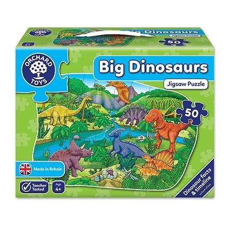 Puzzle de podea dinozauri (50 piese) big dinosaurs, Orchard Toys*