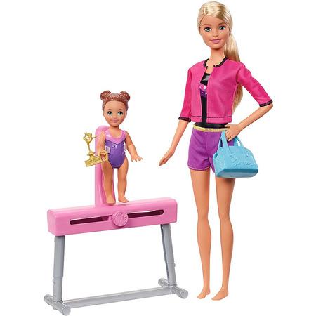 Set Barbie by Mattel I can be Sport 2 papusi cu accesorii FXP39*