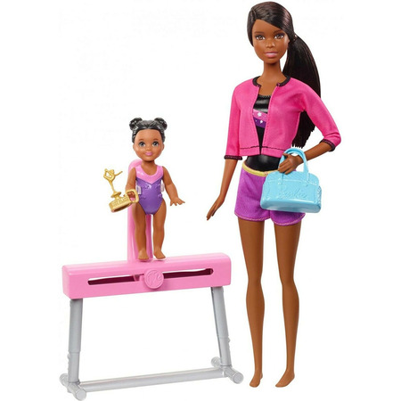 Set Barbie by Mattel I can be Sport 2 papusi cu accesorii FXP40*