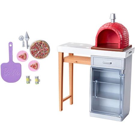 Set Barbie by Mattel Pizzerie cu accesorii*