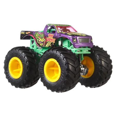 Set Hot Wheels by Mattel Monster Trucks Demolition Doubles A51 Patrol vs Test Subject*