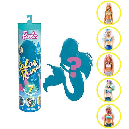 Papusa Barbie by Mattel Color Reveal Wave Sirena surpriza*