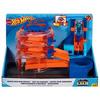 Pista de masini Hot Wheels by Mattel City Spin Dealership cu 1 masinuta*