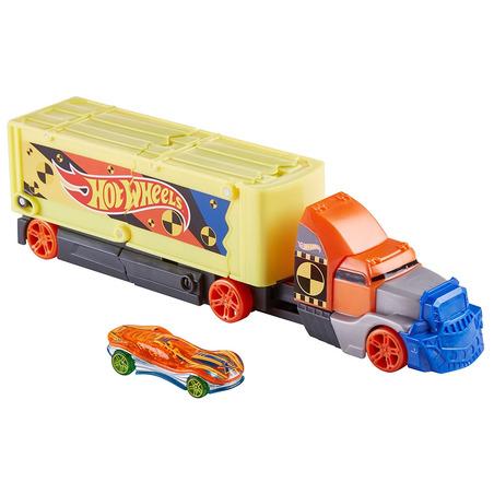Set Hot Wheels by Mattel Camion coliziune cu 1 masinuta*