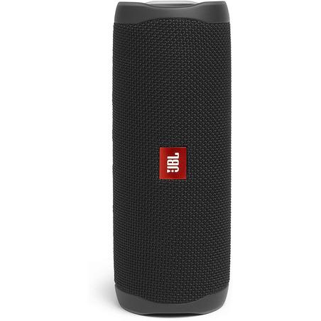 Boxa portabila wireless JBL Flip 5, model TL, sunet 360, 20W, baterie 12 ore, 4800 mAh, rezistenta apa IPX7, Usb C, negru