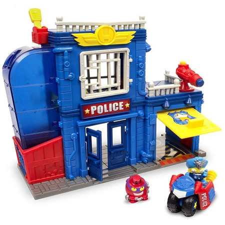 Set Magicbox Toys Super Zings Sectia de politie*