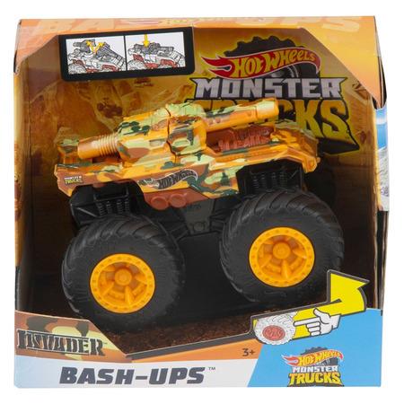 Masina Hot Wheels by Mattel Monster Trucks Invader*