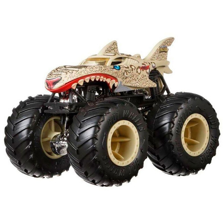 Masina Hot Wheels by Mattel Monster Trucks Leopard Shark*