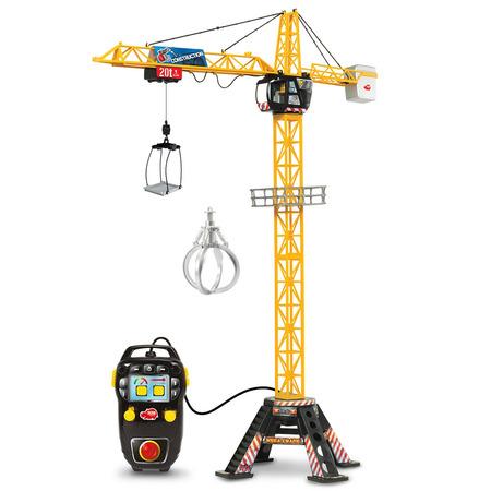 Jucarie Dickie Toys Macara Mega Crane 120 cm cu telecomanda*