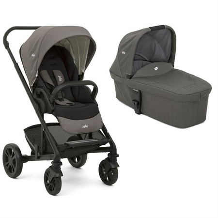 Carucior multifunctional 2 in 1 chrome foggy gray, Joie*
