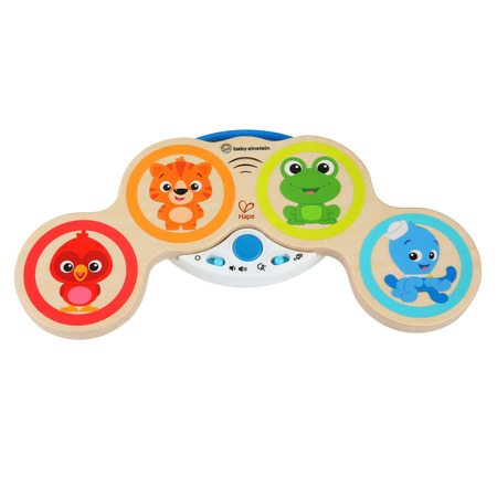 Baby einstein – jucarie muzicala de lemn hape magic touch drum™*