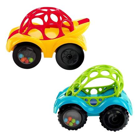 O'ball - prima masinuta a bebelusului rattle & roll, Bright Starts*