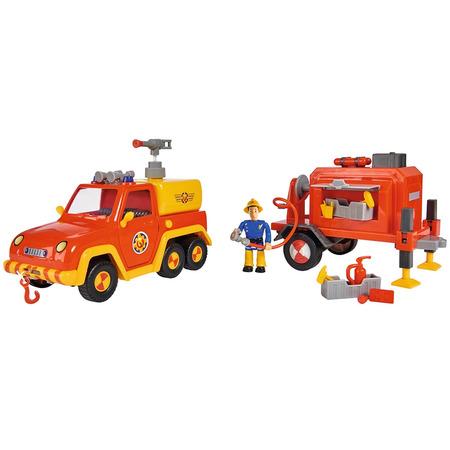 Masina de pompieri Simba Fireman Sam Venus cu remorca, figurina si accesorii*