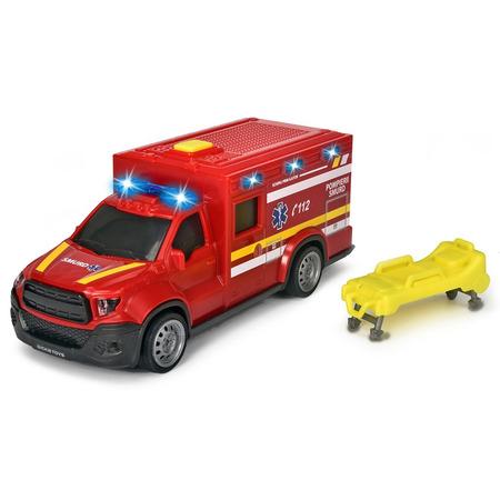 Masina ambulanta Dickie Toys City Ambulance SMURD cu accesorii*